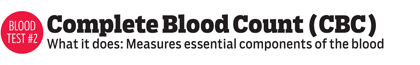 Complete Blood Count (CBC) - Measures essential components of the blood