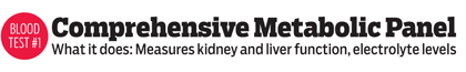 Comprehensive Metabolic Panel - Measures kidney and liver function, electrolyte levels