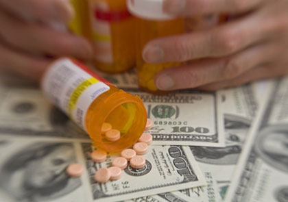 prescription drugs and money