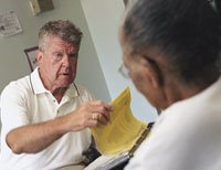 a consultant pharmacist who works to ensure that older people aren't over- and/or mis-medicated