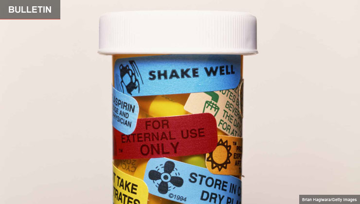 Prescription bottle - prescription drug directions are often confusing to seniors