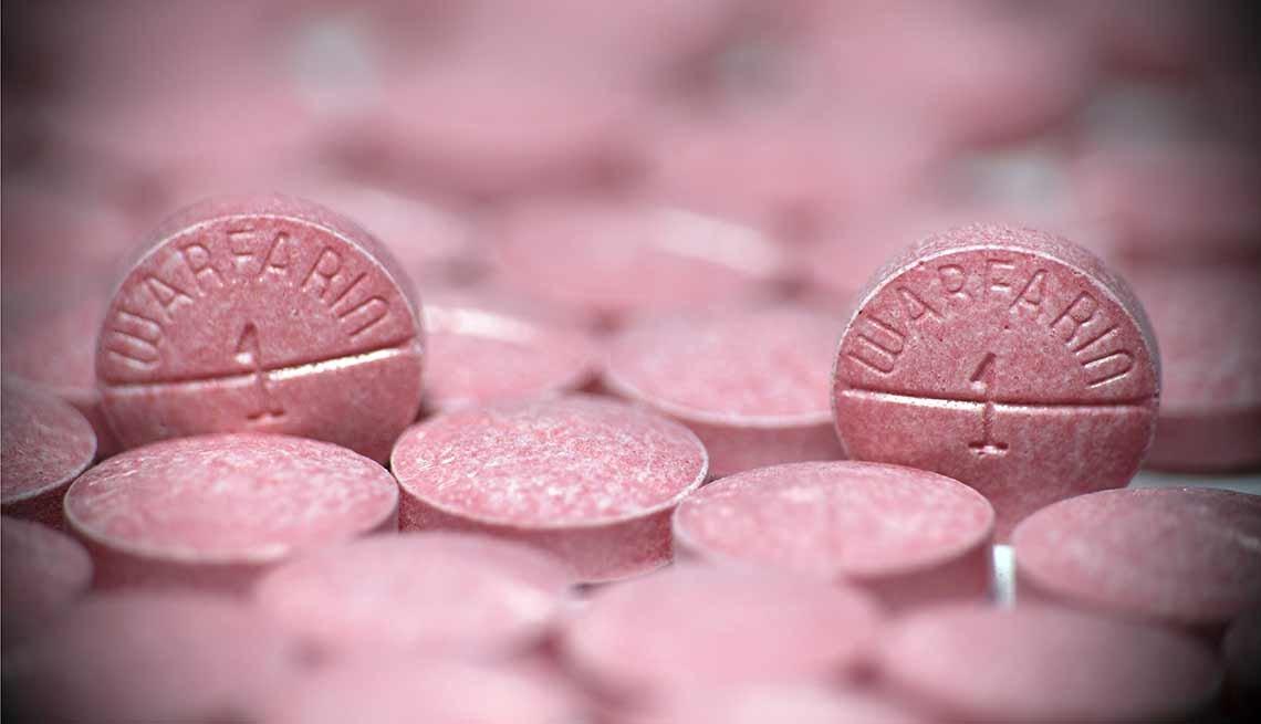 Píldoras de warfarina