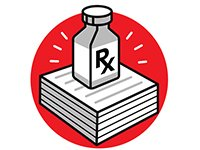 Gráfico de un medicamento