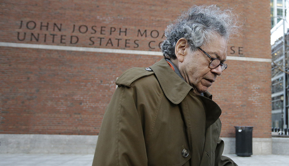 Insys Therapeutics founder John Kapoor outside courthouse
