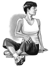 sit stretch exercise