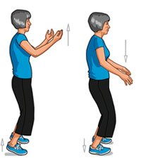 tai chi chih illustration