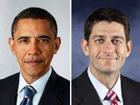 Barack Obama Paul Ryan