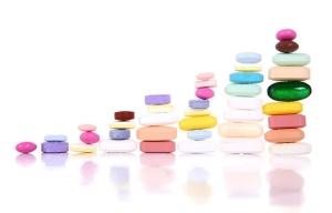 Medicamentos formando una gráfica - Cambios que puedes esperar de Medicare en el 2015