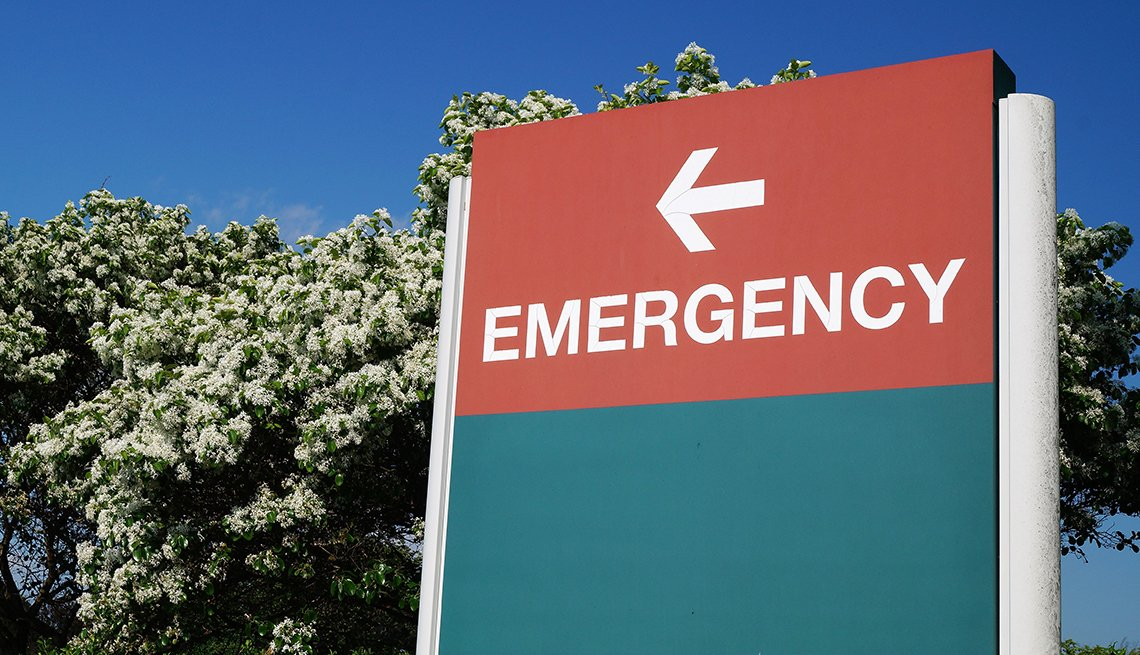 Entrada a sala de emergencia