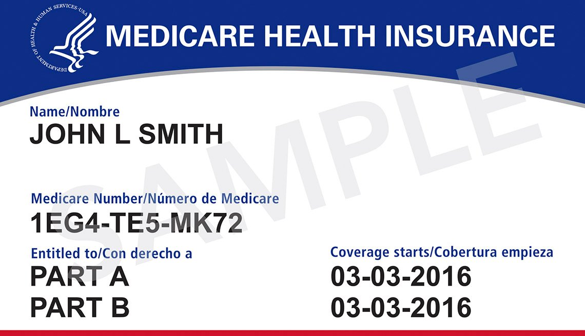 new Medicare Health Insurance card