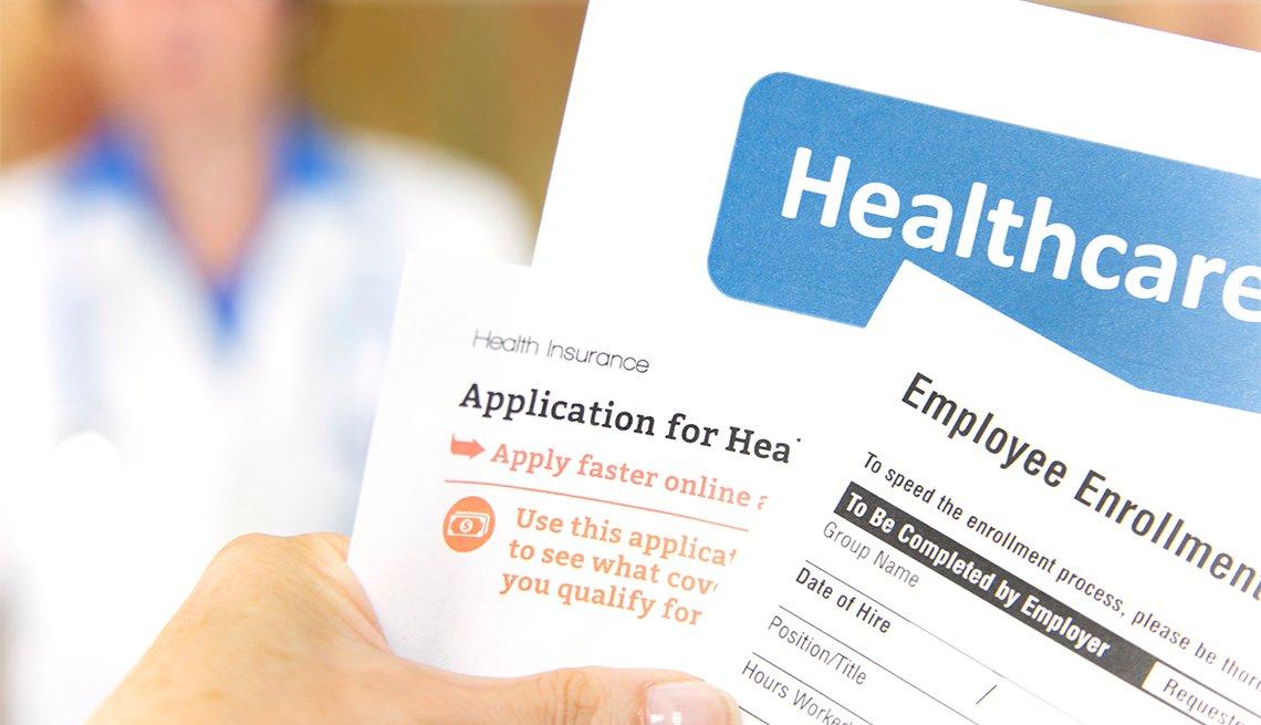 Documentos de inscripción a planes médicos