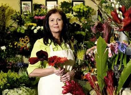 Pequeños negocios - Una floristería