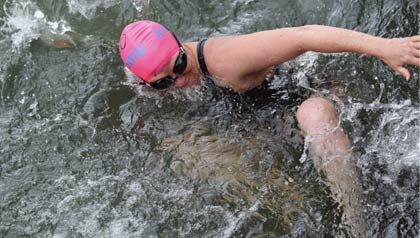 Elizabeth Fry swim English Channel