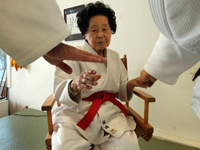 98-year-old Black Belt Judo