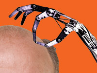 New FDA approved robotic arm makes it easier for surgeons to do a little cranial landscaping.