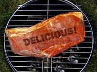 Delicioso pedazo de carne - Cocinar saludablemente en la parrilla