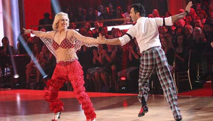 Dancing with the Stars with Martina Navratilova and Tony Dovolani
