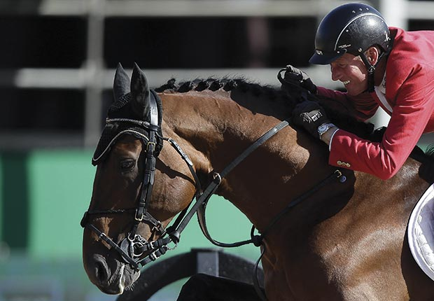 Jos Lansink will compete for Belgium during the London Olympic Games in the equestrian category