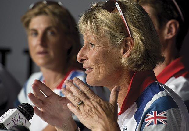 Mary King, 51, will ride for Great Britain in the equestrian events at the Olympics in 2012
