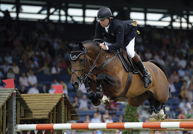 Nick Skelton will compete for Great Britain in the equestrian events during the London Olympic Games