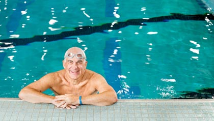 Jim Toedtman, swimming saved my life