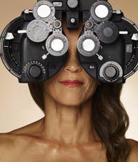 eyesight; eye exam; 50s; vision; glasses; medicare; chart