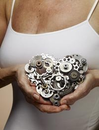 heart disease; 60s; heart attack; heart health; gears; ticker
