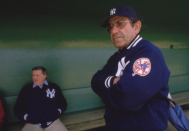 Yogi Berra - celebridades y políticos que podía dormir en cualquier lugar