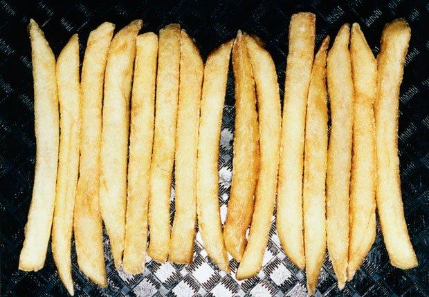 Papas fritas -  Alimentos que afectan la salud del corazon
