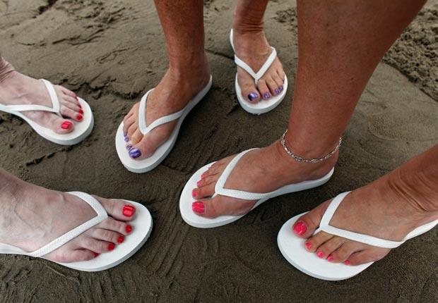 Tres pares de pies - Consigue una dosis diaria de amigos