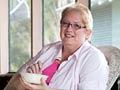 Jane Jones atribuye a comer harina de avena para su éxito de pérdida de peso