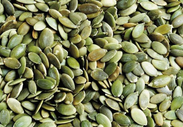 Pepitas, semillas - Alimentos que mejoran la circulacion