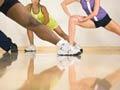 Clase de estiramiento - Como ponerse en forma para el verano - Tonificar el cuerpo