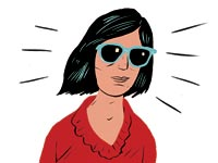 Cataracts surgery sunglasses (Paul Blow)