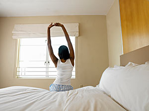 Stretch in bed. 7 Things You Can Do in the Bedroom That Can Save Your Life.