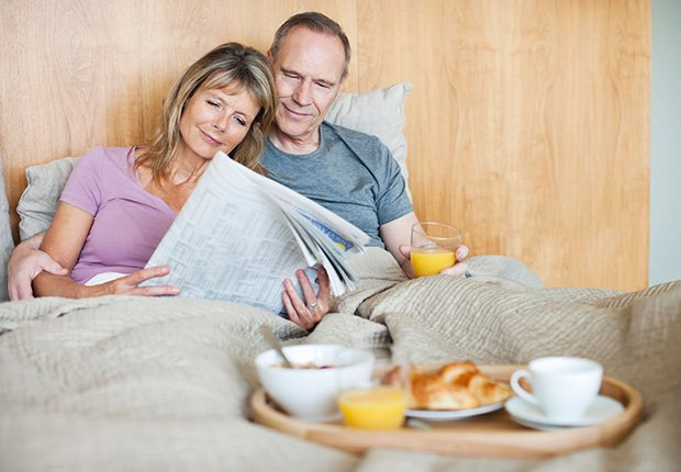 Have breakfast in bed, 7 things to do in your bedroom that can save your life.