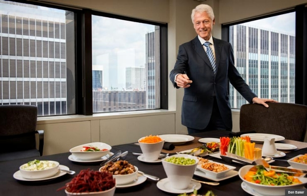 BILL CLINTON DIET