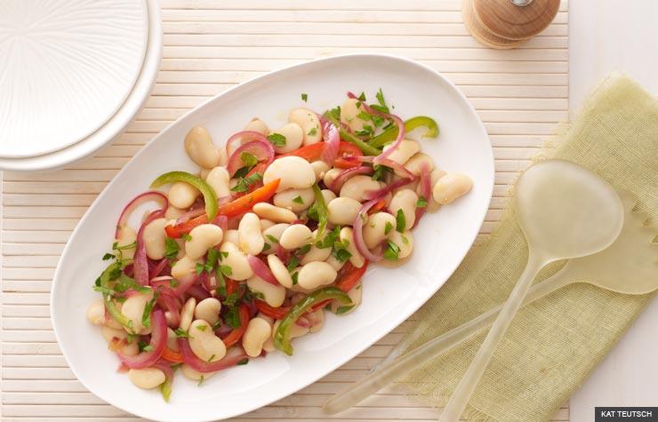 Gigante Bean Salad (KAT TEUTSCH)