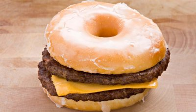 Surprising Reasons Pack On Pounds Double Cheeseburger Donut