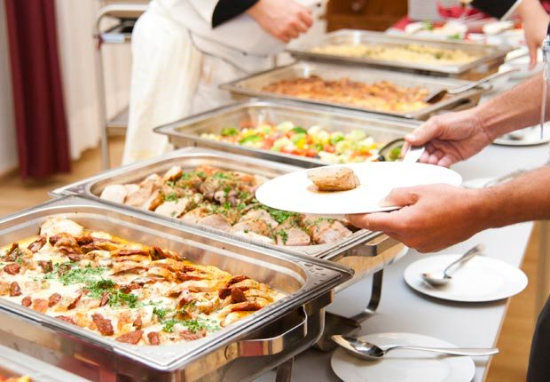 buffet table (Getty Images)