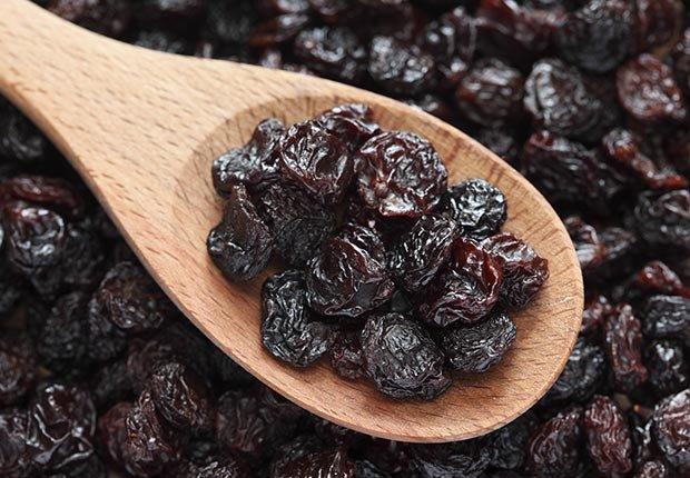 Uvas pasas, Alimentos con beneficios sorprendentes para la salud