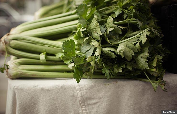 Celery, Everyday Foods with Surprising Health Benefits (Ocean/Corbis)