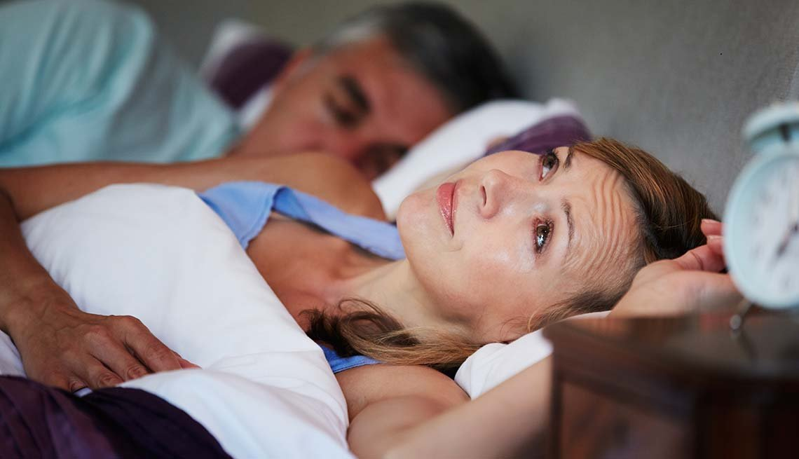 Woman lies awake with husband, Foods sabotage sleep