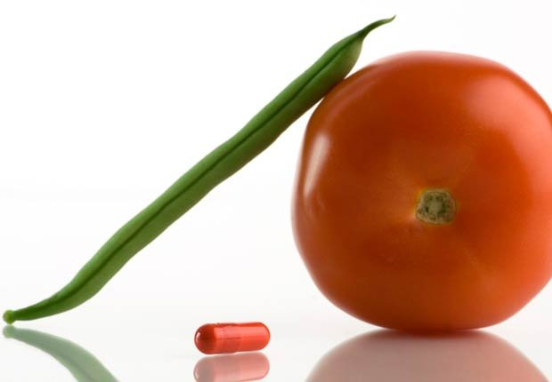 Tomate, una habichuela y una vitamina - Mitos sobre las vitaminas