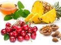 Frutas y frutos secos - Alimentos que te ayudan a dormir mejor
