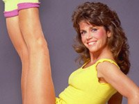 Jane Fonda protagonizó su primer vídeo de entrenamiento en 1982.