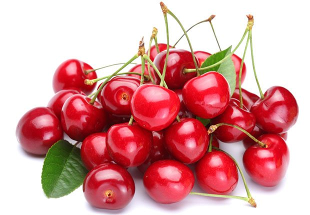 Cherries are one of the few food sources of melatonin, the sleep hormone that regulates your internal clock. Recent studies found that volunteers who ate cherries or drank tart cherry juice before bed fell asleep sooner and slept better and longer.