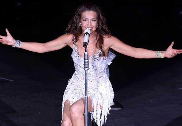 Thalia in concert