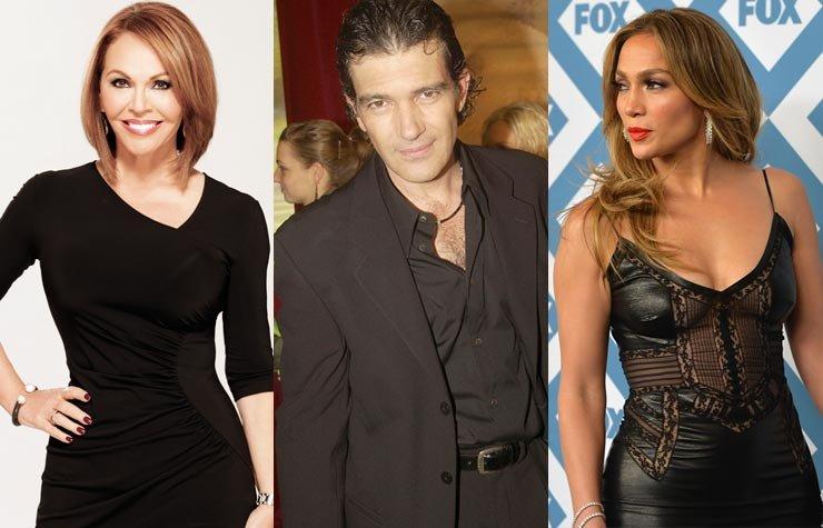 María Elena Salinas, Antonio Banderas y Jennifer López - Artistas latinos que parecen no envejecer
