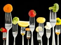 Alimentos en unos tenedores - Alimentos milagrosos